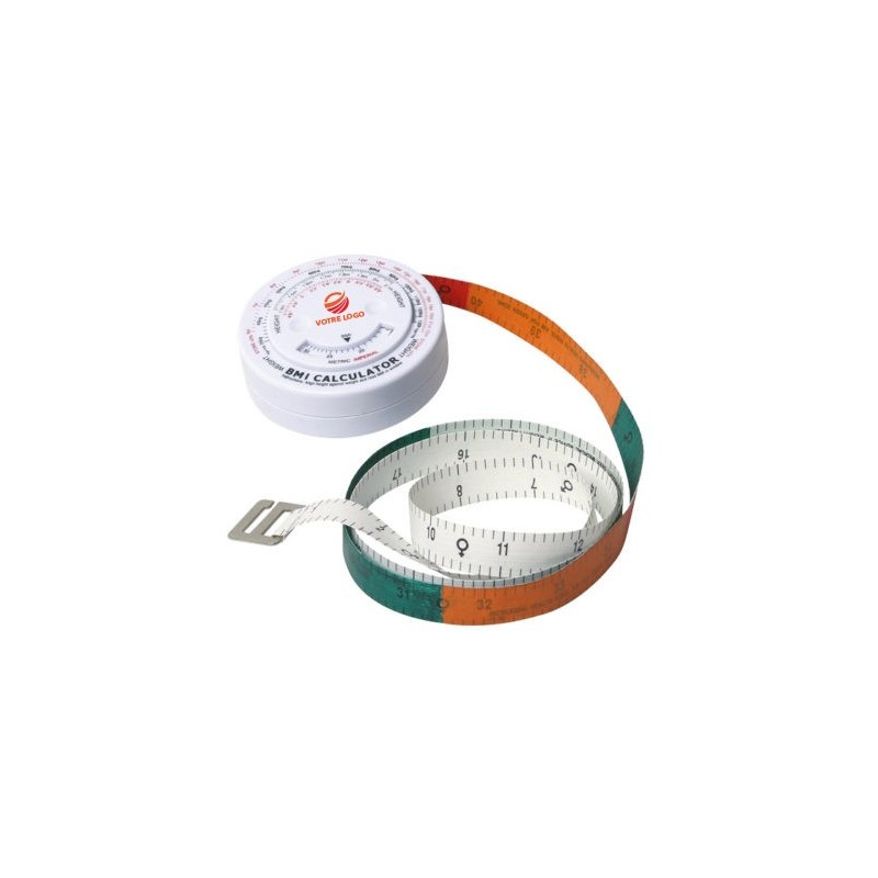 BMI Métre bmi rond (ruban coloré)