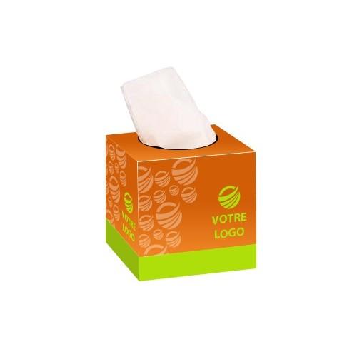 Boîte à mouchoirs carrée Boîtes Mouchoirs personnalisées