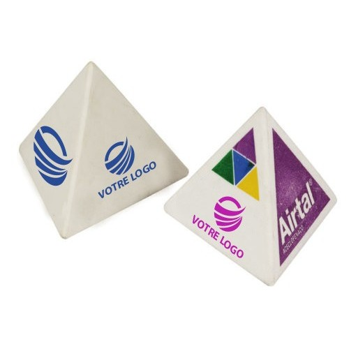 Gomme Publicitaire pyramide Gomme publicitaire