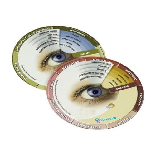 Disque ophtalmologie Idée cadeau ophtalmologie
