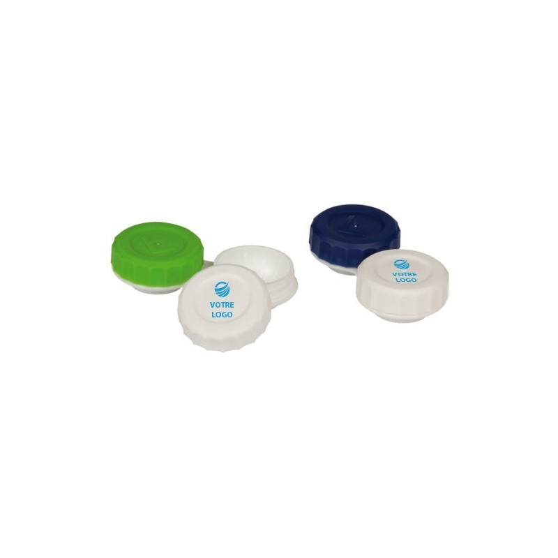 Boîtier de lentilles personnalisé Idée cadeau ophtalmologie