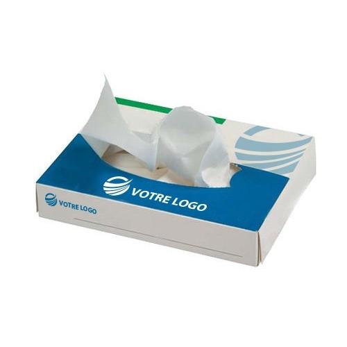 Boîte à mouchoirs plate Boîtes Mouchoirs personnalisées