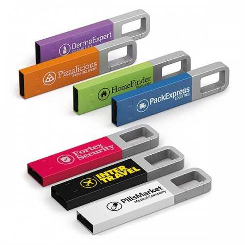 Clé usb Iron Color HOOK Clés usb publicitaires