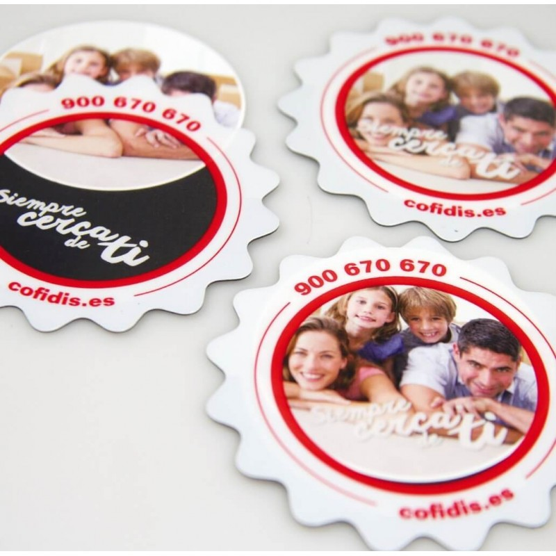 Magnet cadre photo Magnets publicitaires