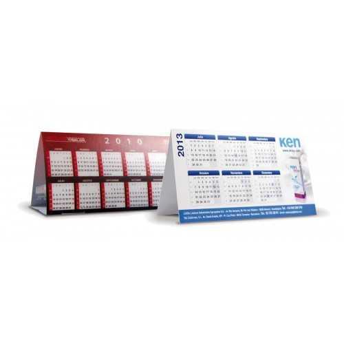 Calendrier chevalet publicitaire Calendrier plastique publicitaire