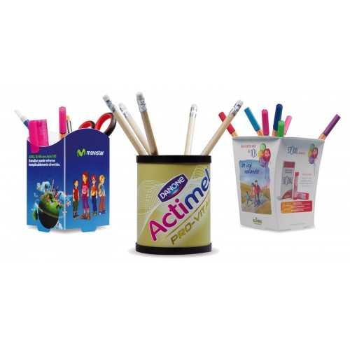 Pot à stylos publicitaire PP