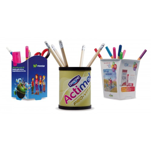 Plus d'idées Pot à crayon plastique personnalisé