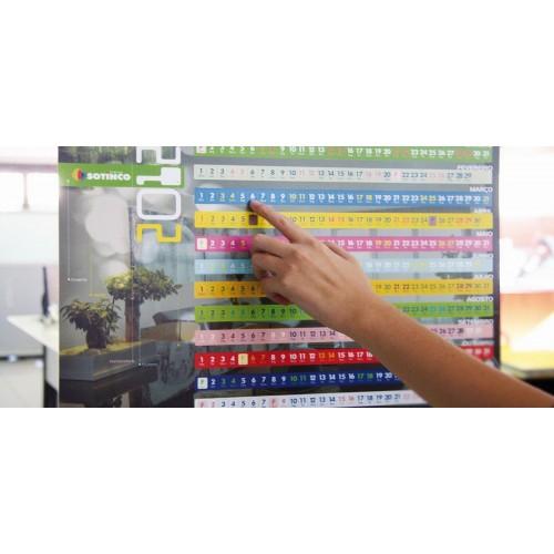 Calendriers muraux Calendrier plastique publicitaire