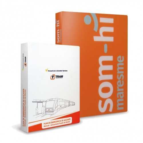 Classeur publicitaire Porte documents