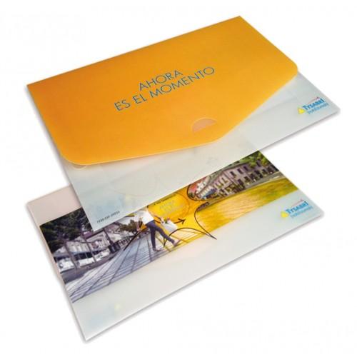 Porte-documents publicitaires Enveloppes plastique