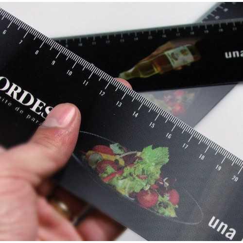 Règle lenticulaire 3D Règles publicitaires