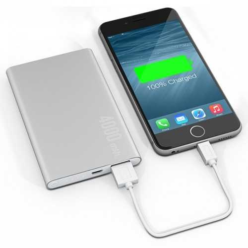 Powerbank Deluxe SL 4000 Powerbank publicitaire