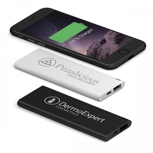 Powerbank personnalisé executive light 3000mah Powerbank publicitaire