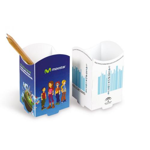 Pot à crayon plastique personnalisé Pots à Stylos