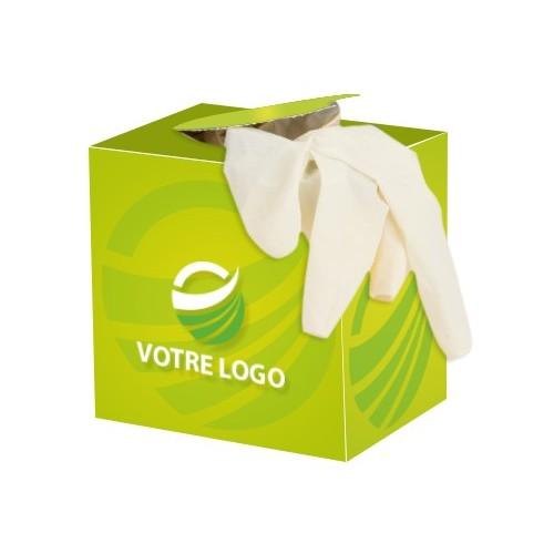 Distributeur Gants latex publicitaire Gants médicaux publicitaires