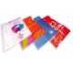 Porte-documents publicitaires Chemise personnalisée plastique
