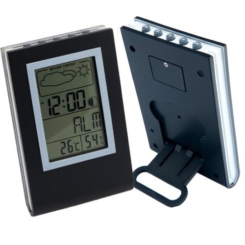 Horloge publicitaire Station météo publicitaire etna