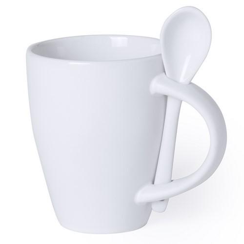 Mug à cuillère publicitaire SAMAY Mug publicitaire