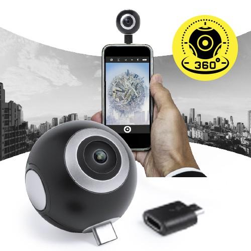 Objets connectés Caméra 360° publicitaire RIBBEN