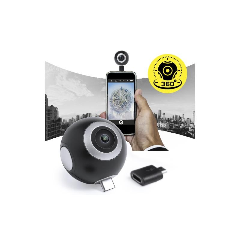 Caméra 360° publicitaire RIBBEN Objets connectés