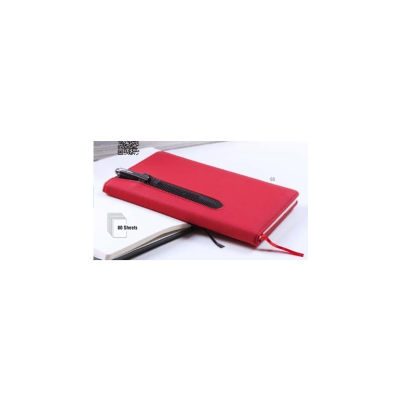 Bloc notes publicitaire merton Bloc-notes avec stylo