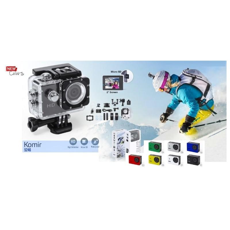 Caméra sportive publicitaire komir Objets connectés
