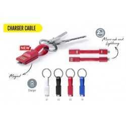 Chargeur Porte-Clés publicitaire HOLNIER Accessoires smartphone