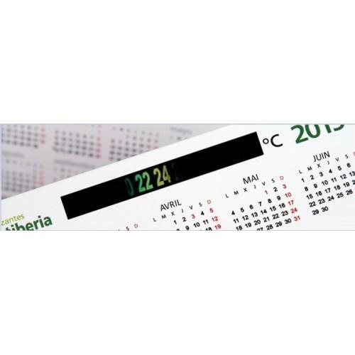 BUREAU Calendrier avec thermomètre
