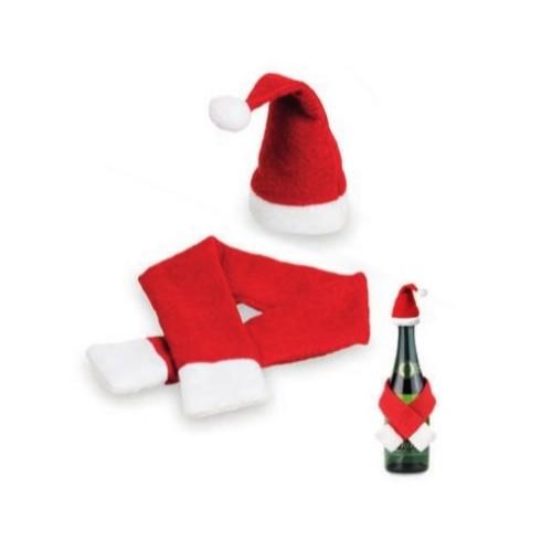 Set bouteille de Noël DOUKI NOEL