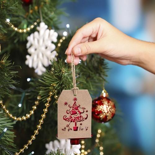 Etiquette cadeau Noël GOSLAK NOEL