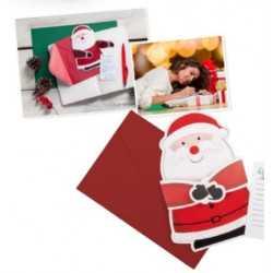 Carte de Noel publicitaire POXTAL NOEL