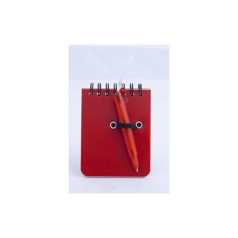 Mini cahier publicitaire duxo Bloc-notes avec stylo