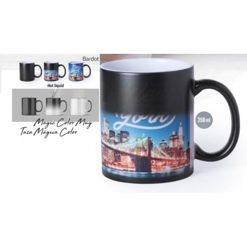 Mug qui change couleur BARDOT Mug publicitaire