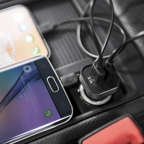 Chargeur voiture RIDEKAL Powerbank publicitaire