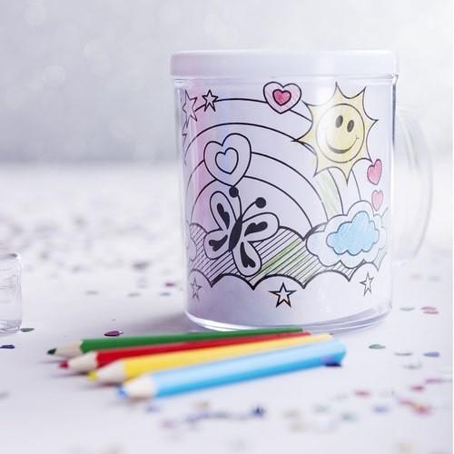 Mug tasse personnalisée FESIENT Pots à Stylos