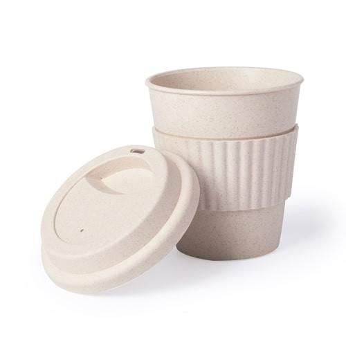 Gobelet Bambou personnalisé ZAURAK Gobelet plastique