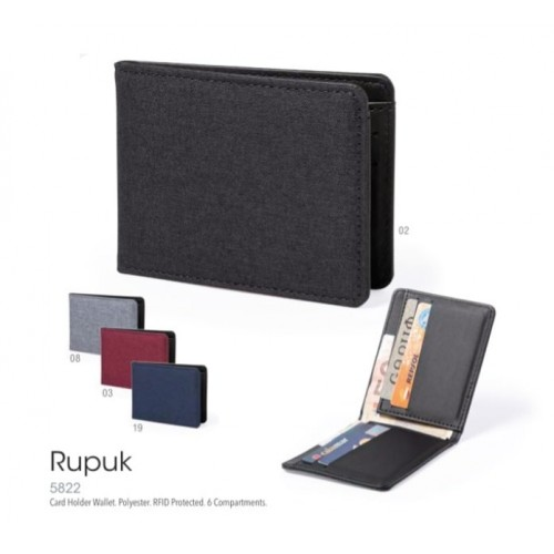 Porte-cartes sécurisé RUPUK Porte cartes visite