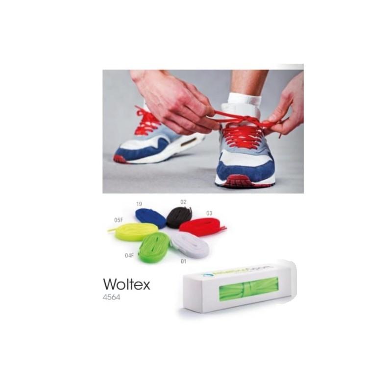 Lacets publicitaire woltex Course à pied