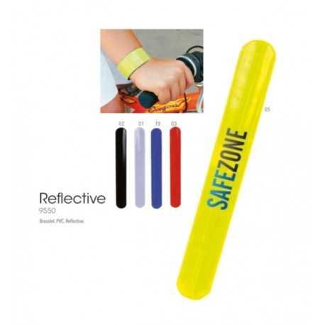 Bracelet publicitaire reflective Outils publicitaires