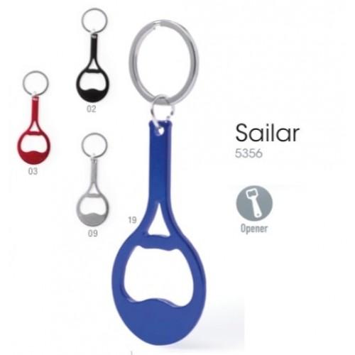Porte-clés publicitaire sailar Porte-clés publicitaires