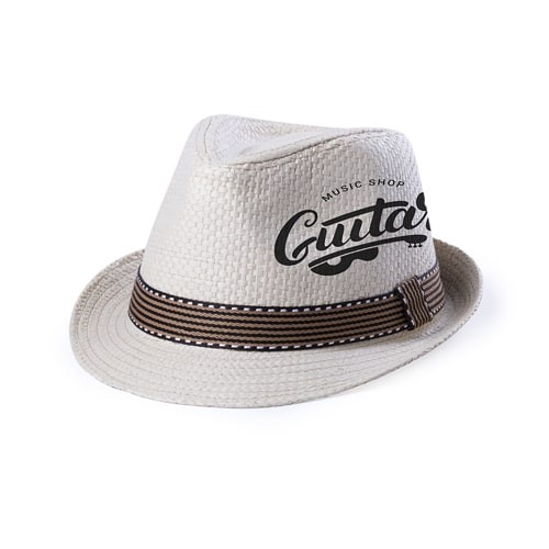 Chapeau de paille personnalisé KAOBEX Chapeau publicitaire