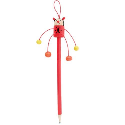 Crayon Coccinelle personnalisé Crayons publicitaires