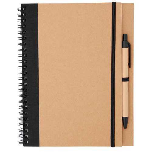 Cahier publicitaire tunel Bloc-notes avec stylo