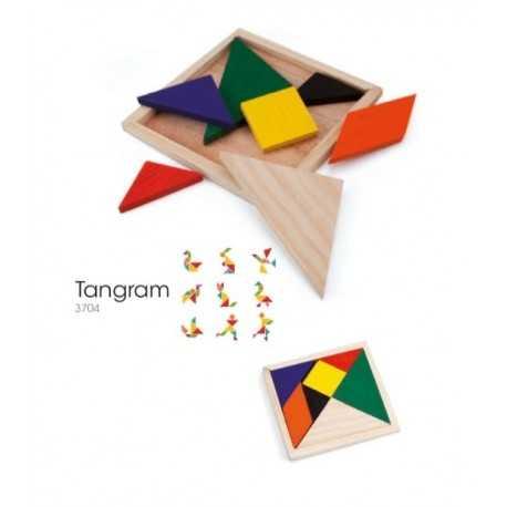 Puzzle publicitaire tangram Jeux enfant