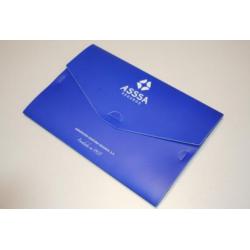 Pochette plastique personnalisable Porte documents en plastique