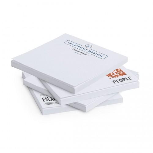 Bloc notes adhésif personnalisé tander Bloc Cube Papier