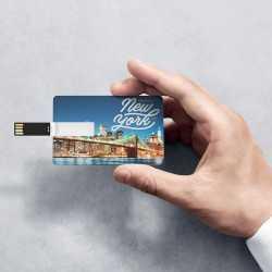 Clé usb personnalisée carte crédit Clés usb publicitaires