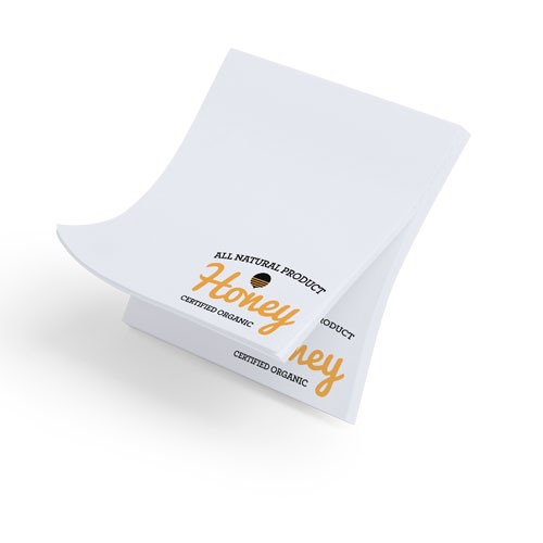 Blocs-notes publicitaires Bloc notes adhésif personnalisé tander