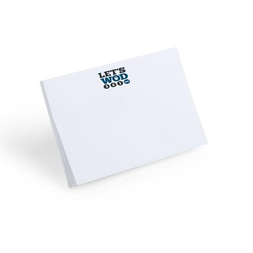 Bloc notes adhésif personnalisé samko Bloc notes sur mesure