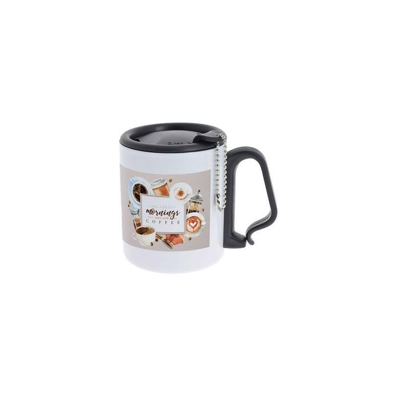 Mug avec Couvercle personnalisé Mug publicitaire